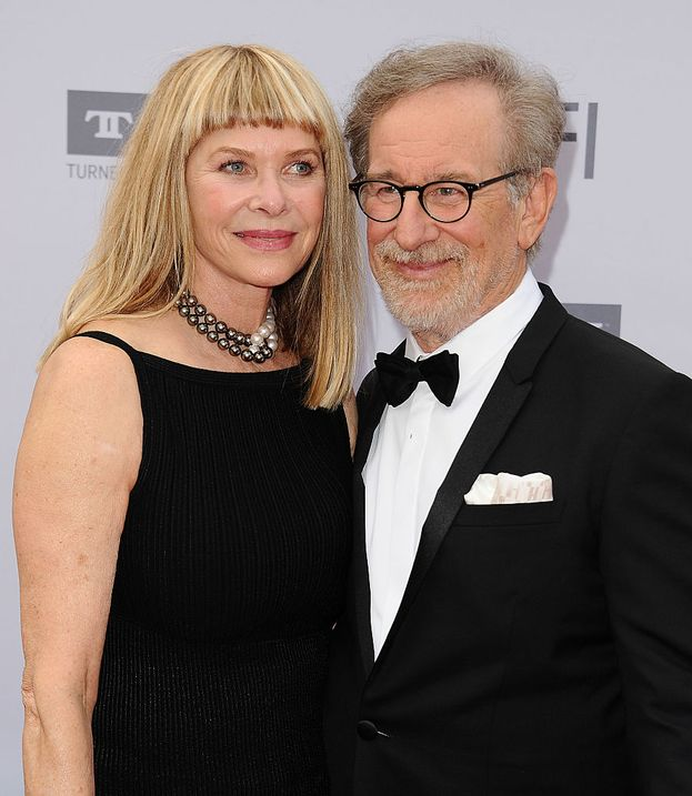 Steven Spielberg e Kate Capshaw, sposati dal 1991