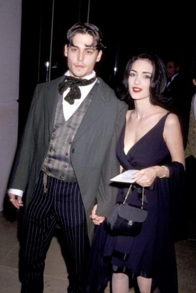 Johnny Depp e Winona Ryder, 1990-1993