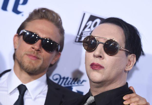 con Marilyn Manson