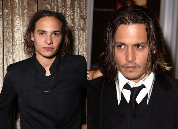 """Dillane e Depp nel 2001, alla prima di """"From Hell"""""""