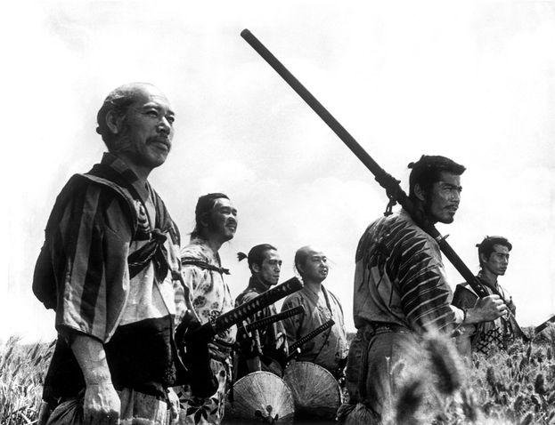 """""""I sette samurai"""", Giappone - 1954"""