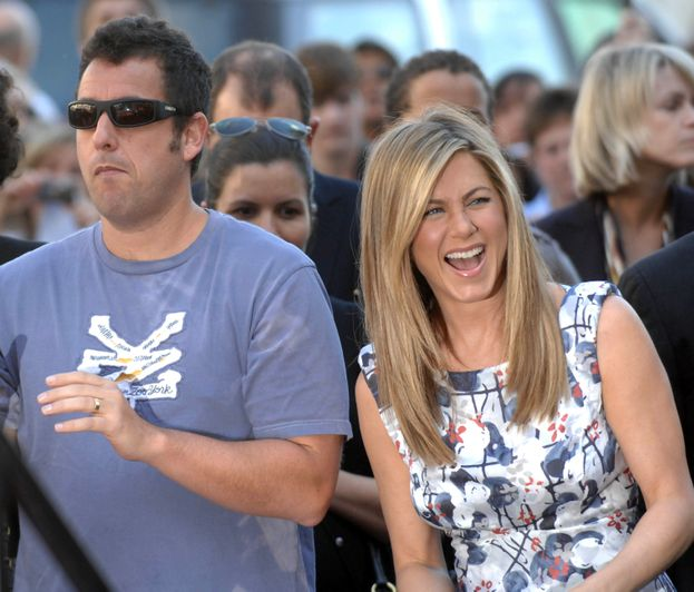 Adam Sandler e Jennifer Aniston