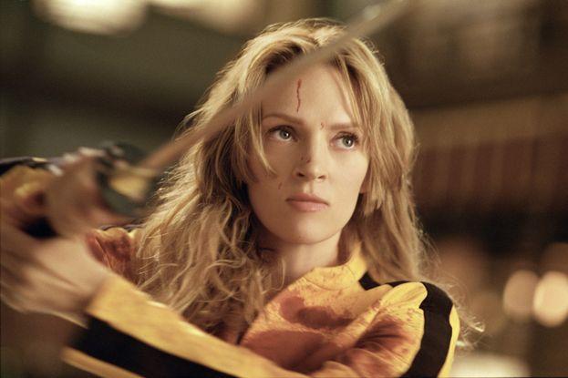 Beatrix Kiddo (Uma Thurman in Kill Bill)