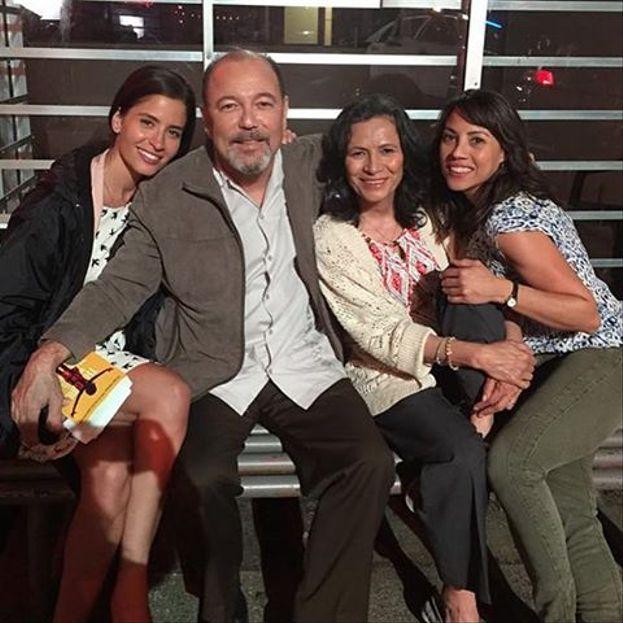 Mercedes Mason, Rubén Blades (Daniel Salazar), Patricia Reyes Spíndola (Griselda Salazar) ed Elizabeth Rodriguez