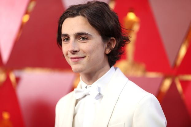 Timothée Chalamet (Chiamami col tuo nome, Lady Bird)