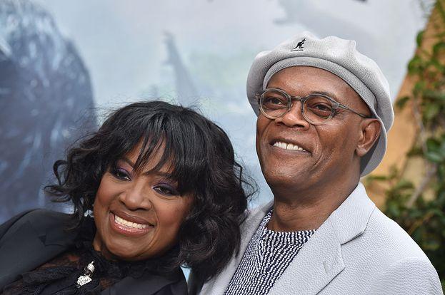 Samuel L. Jackson e LaTanya Richardson, sposati dal 1980