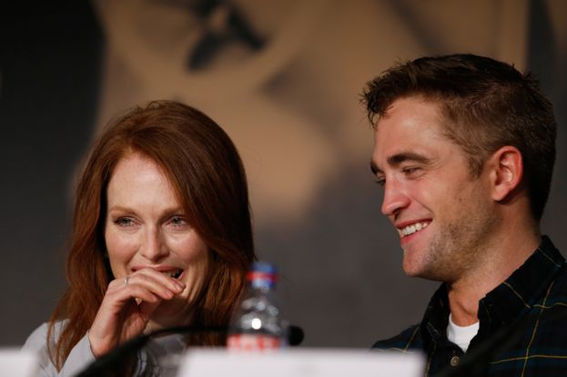 Robert Pattinson, che sudata