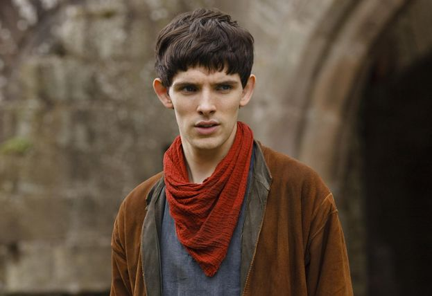 "Colin Morgan (Merlino di ""Merlin"") - ieri"