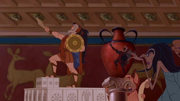 "Scar in ""Hercules"" (1997)"