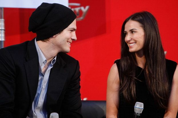 Demi Moore e Ashton Kutcher, 2003-2013