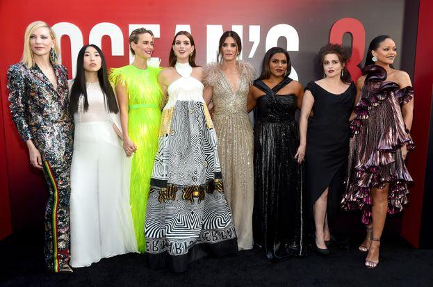 Il cast di Ocean's 8