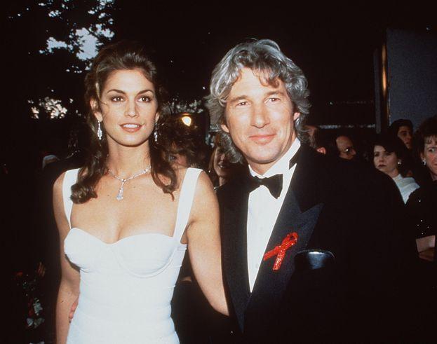 1993, insieme alla moglie Cindy Crawford (si sono separati nel 1995)