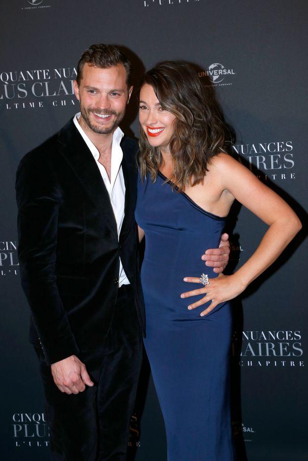 Jamie Dornan e la moglie Amelia Warner