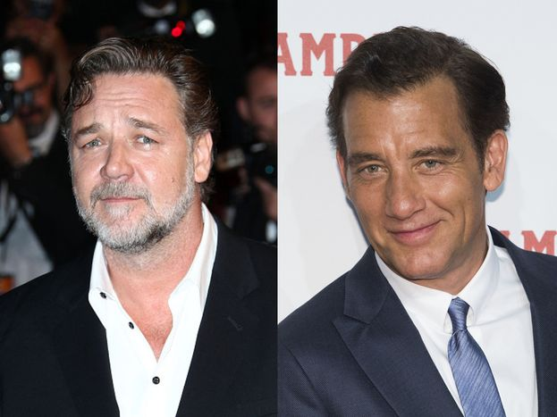 Russell Crowe e Clive Owen - classe 1964