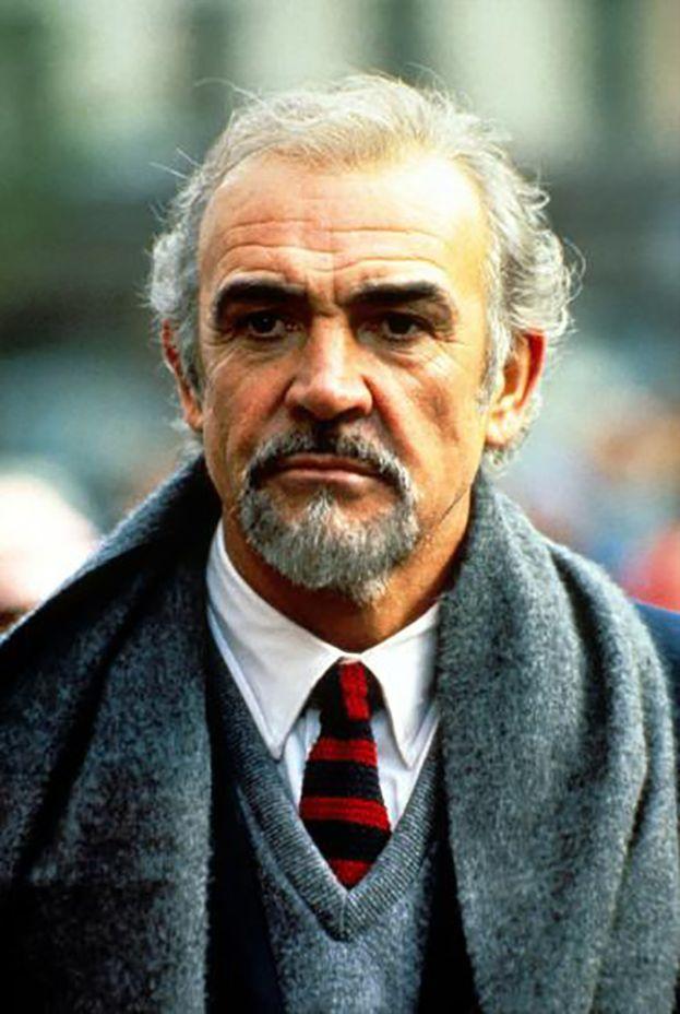 Sean Connery nel 1963 e oggi