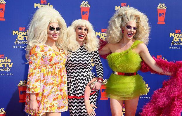 Trixie Mattel, Katya Zamolodchikova e Alyssa Edwards