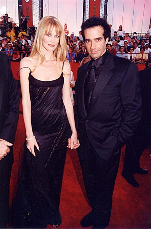 Claudia Schiffer e David Copperfield, Academy Awards 1998