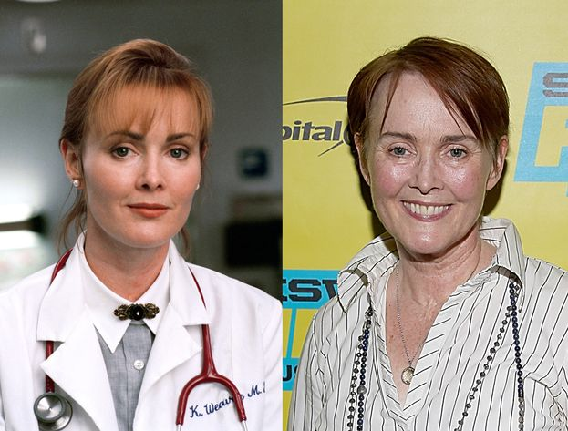 Laura Innes - Kerry Weaver: nel 1996 e nel 2016