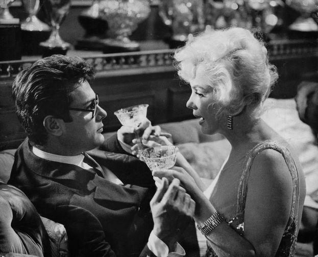 Marilyn Monroe e Tony Curtis