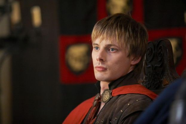 "Bradley James (Artù di ""Merlin"") - Ieri"