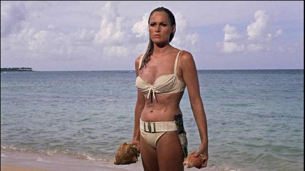 """Ursula Andress - """"Agente 007 – Licenza di uccidere"""" (1962)"""