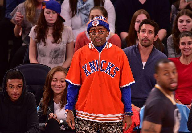 Spike Lee - New York Knicks (basket)