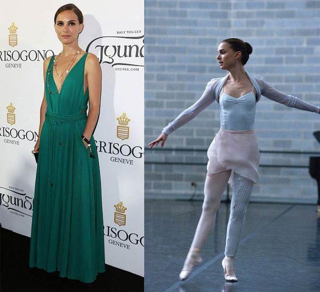 """Circa 10 kg in meno è il risultato della dieta di Natalie Portman per interpretare la ballerina protagonista del film """"Black Swan""""."""