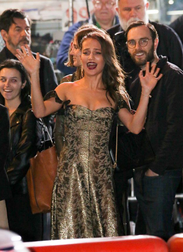 Alicia Vikander, première di Los Angeles