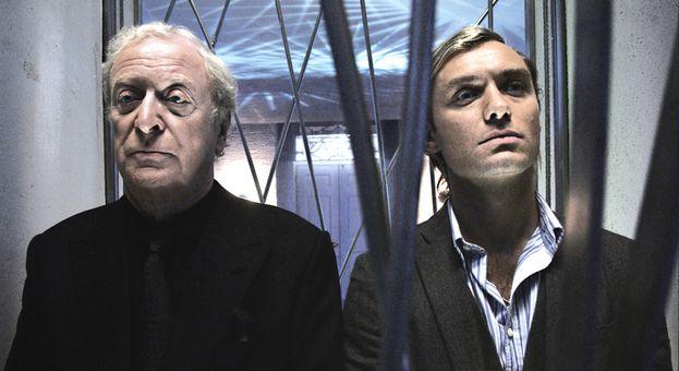 Jude Law e Michael Caine