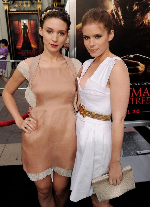 Rooney e Kate Mara
