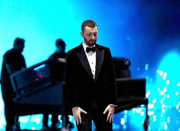 La performance del neo premio Oscar Sam Smith