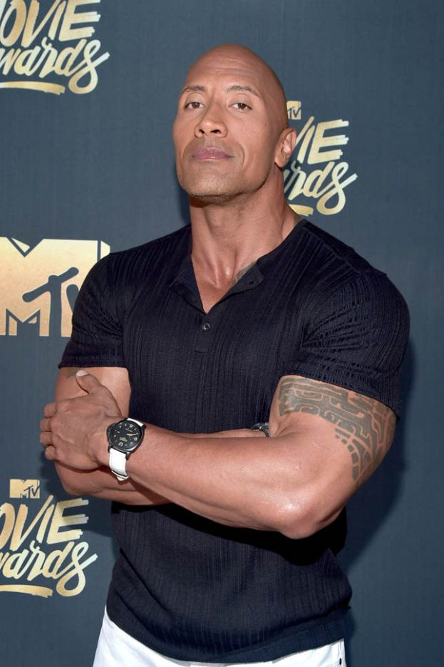 Dwayne 'The Rock' Johnson - 2 maggio 1972