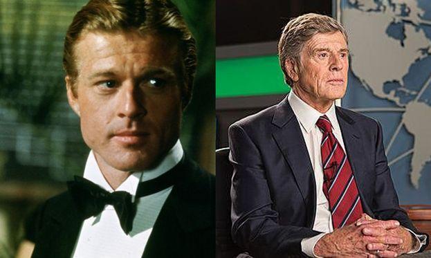 """Robert Redford nel 1973 e nel 2015 nel film """"Truth: il prezzo della verità"""""""