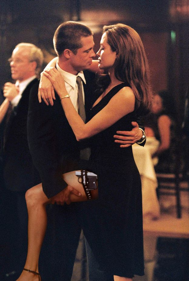 "Angelina Jolie e Brad Pitt - ""Mr. & Mrs. Smith"" (2005)"