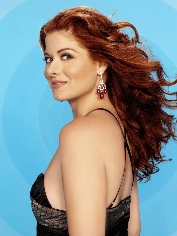 "Debra Messing (Grace di ""Will & Grace"") - Ieri"