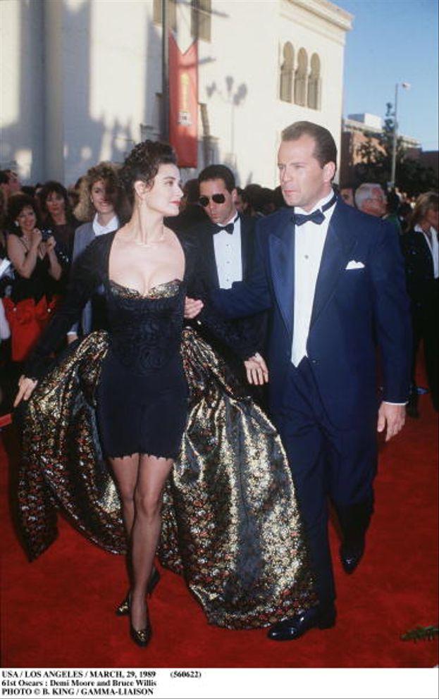 Demi Moore e Bruce Willis, Academy Awards 1989