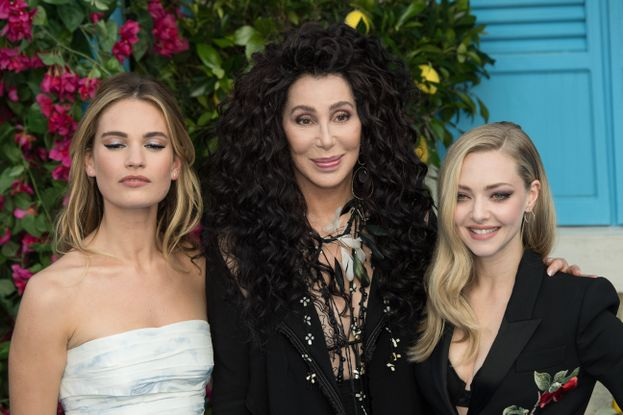 Lily James, Cher e Amanda Seyfried