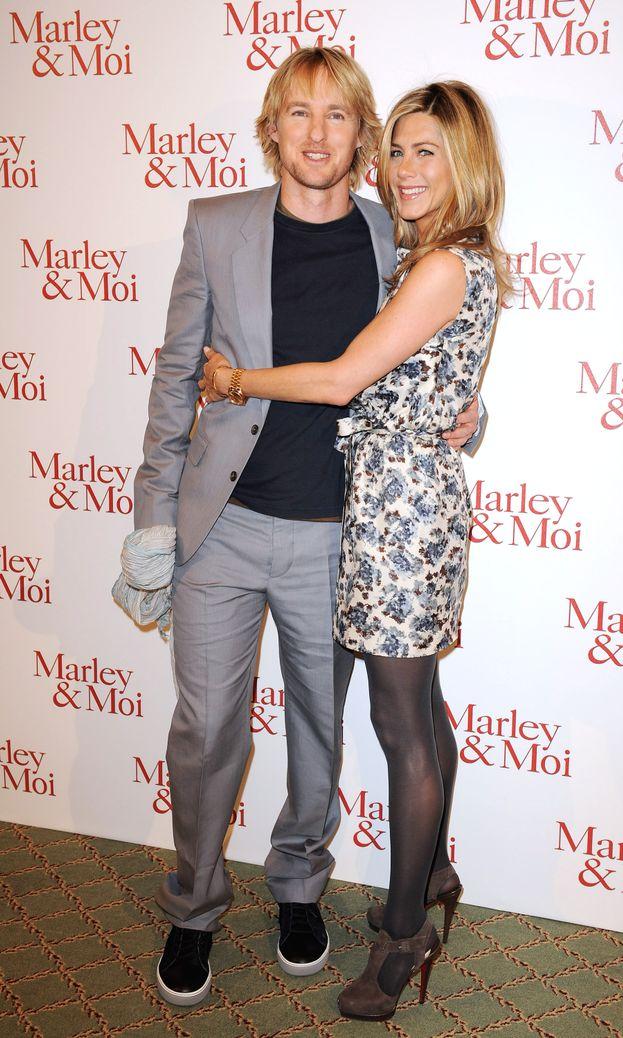 """Jennifer Aniston e Owen Wilson - """"Io & Marley"""" (2008)"""