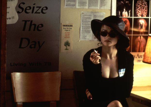 "Brad Pitt ed Helena Bonham Carter - ""Fight Club"" (1999)"