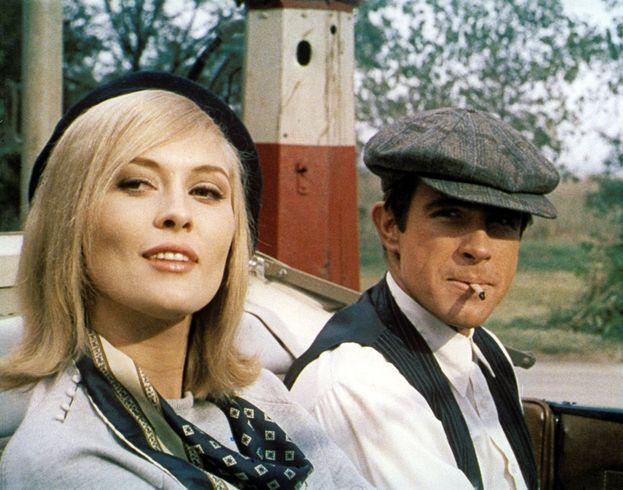 Bonnie e Clyde (Faye Dunaway e Warren Beatty)