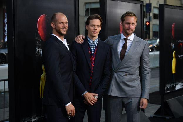 Gustaf, Bill e Alexander Skarsgård