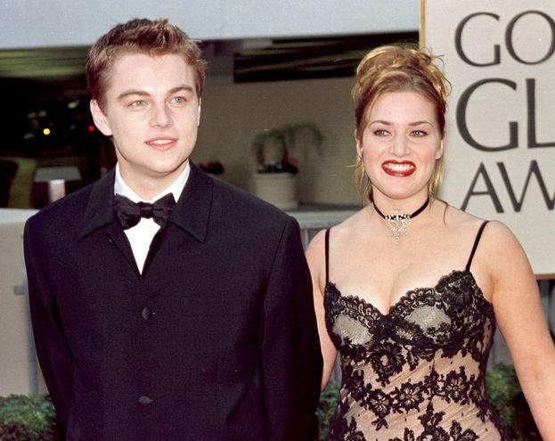 """Kate Winslet e Leonardo DiCaprio -  """"Titanic"""" (1997)"""