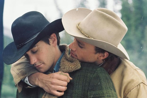 "Jake Gyllenhall e Heath Ledger - ""I segreti di Brokeback Mountain"" (2005)"