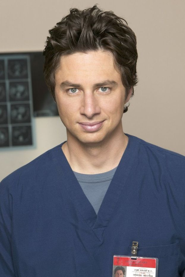 """J.D. (Zach Braff) - """"Scrubs"""""""