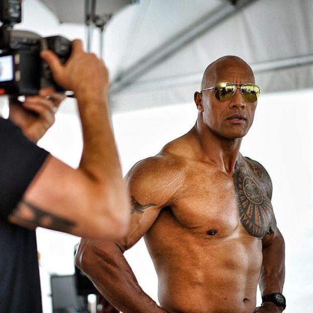 Dwayne Johnson alias The Rock: 1,96 m