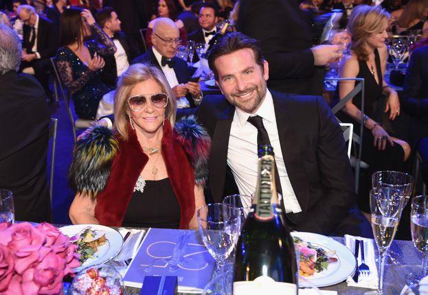 Bradley Cooper e la madre Gloria Campano