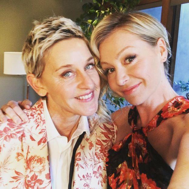 Ellen DeGeneres e Portia de Rossi, insieme dal 2004