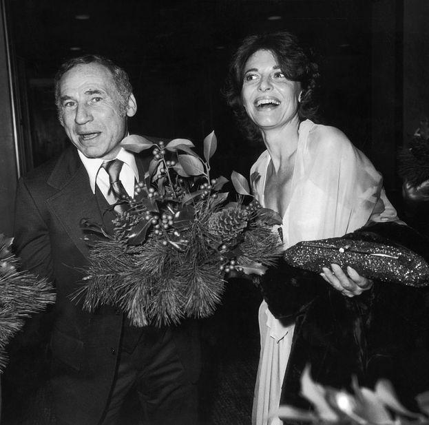 Mel Brooks e Anne Bancroft, sposati dal 1964 fino alla morte di lei nel 2005
