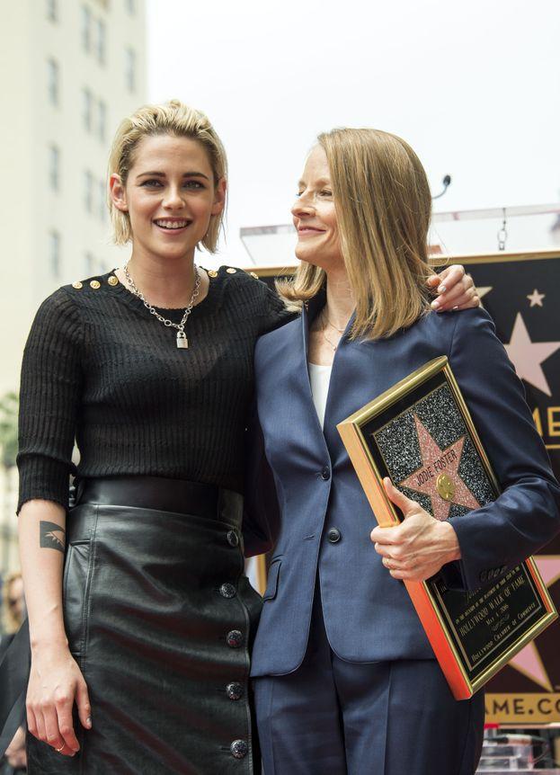 con Jodie Foster
