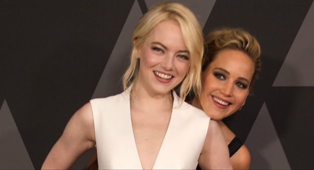 Emma Stone e Jennifer Lawrence